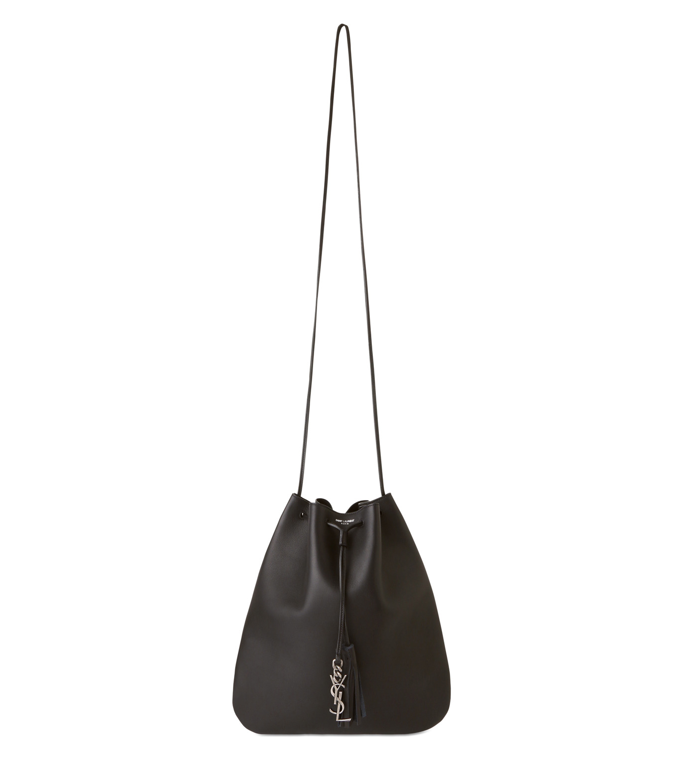 SAINT LAURENT(サンローラン)のJen Medium Flat Bag-BLACK(ショルダーバッグ/shoulder bag)-423874-BJ50D-13 拡大詳細画像1