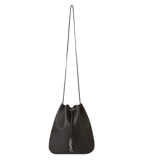 SAINT LAURENT(サンローラン)のJen Medium Flat Bag-BLACK(ショルダーバッグ/shoulder bag)-423874-BJ50D-13 詳細画像1