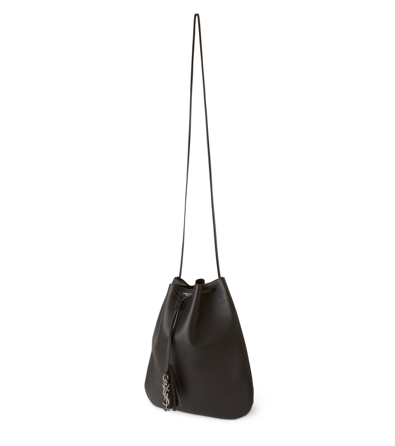 SAINT LAURENT(サンローラン)のJen Medium Flat Bag-BLACK(ショルダーバッグ/shoulder bag)-423874-BJ50D-13 拡大詳細画像2