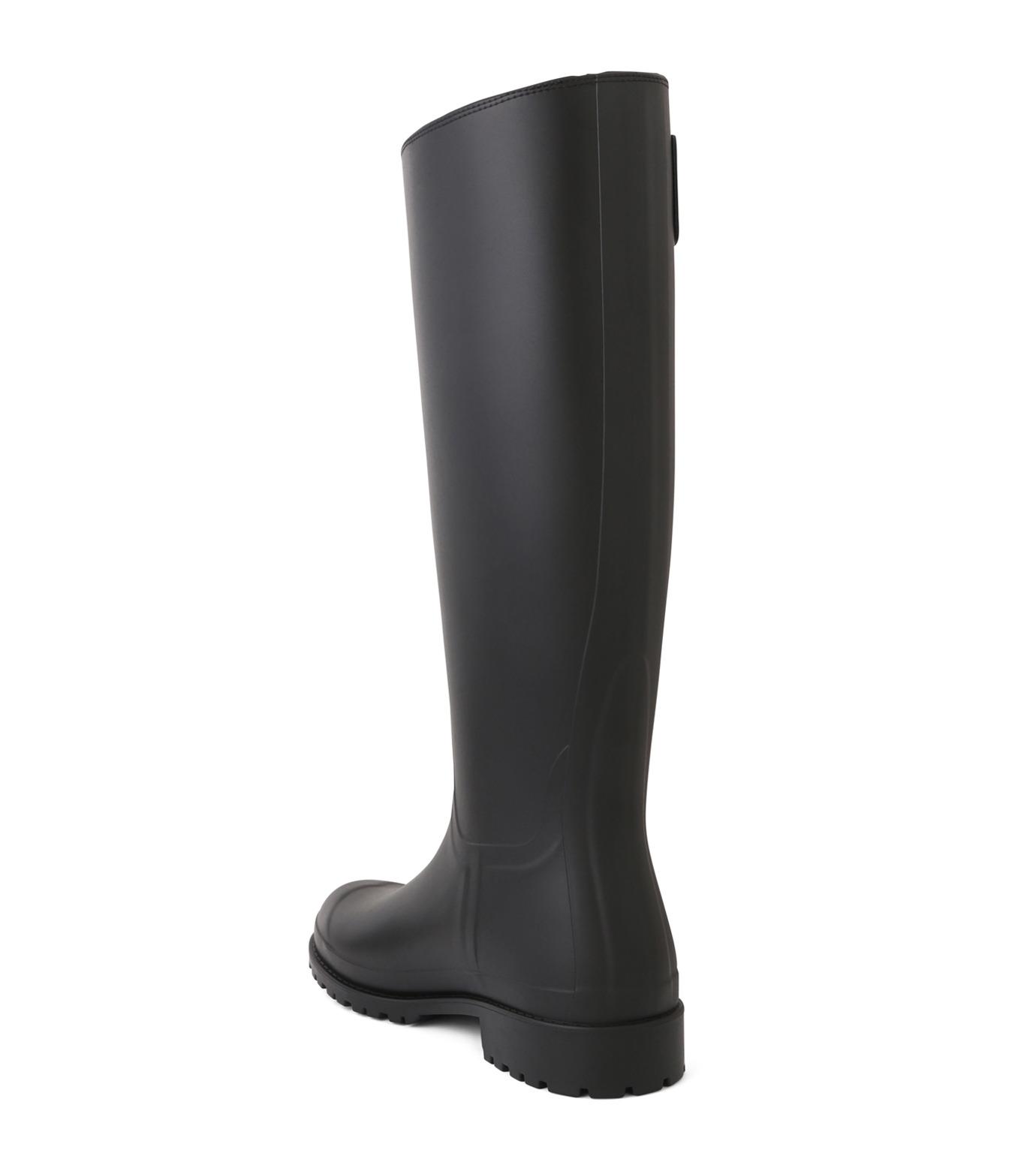 SAINT LAURENT(サンローラン)のRain Boots-BLACK(シューズ/shoes)-427315-GQN10-13 拡大詳細画像2