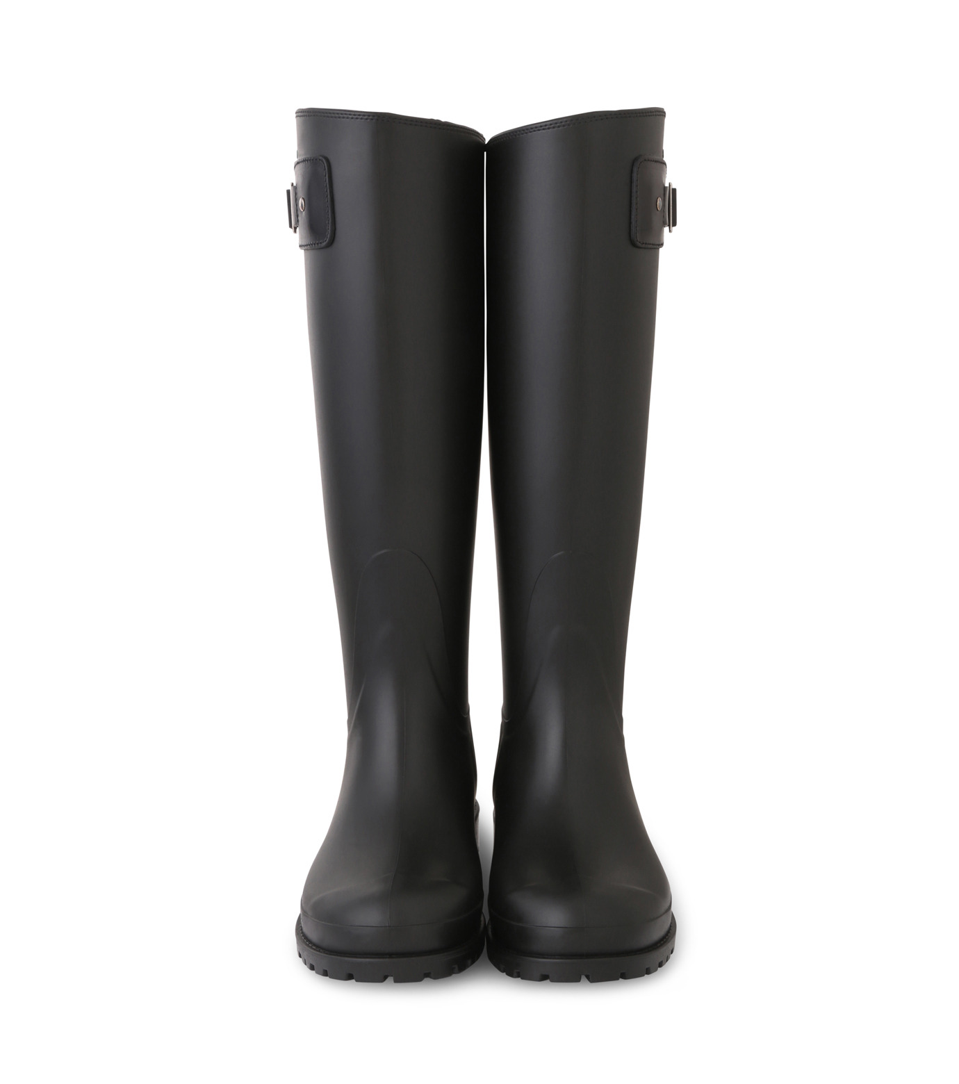 SAINT LAURENT(サンローラン)のRain Boots-BLACK(シューズ/shoes)-427315-GQN10-13 拡大詳細画像4