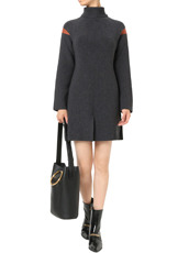Stella McCartney(ステラマッカートニー) Clean Ribs Turtleneck Dress