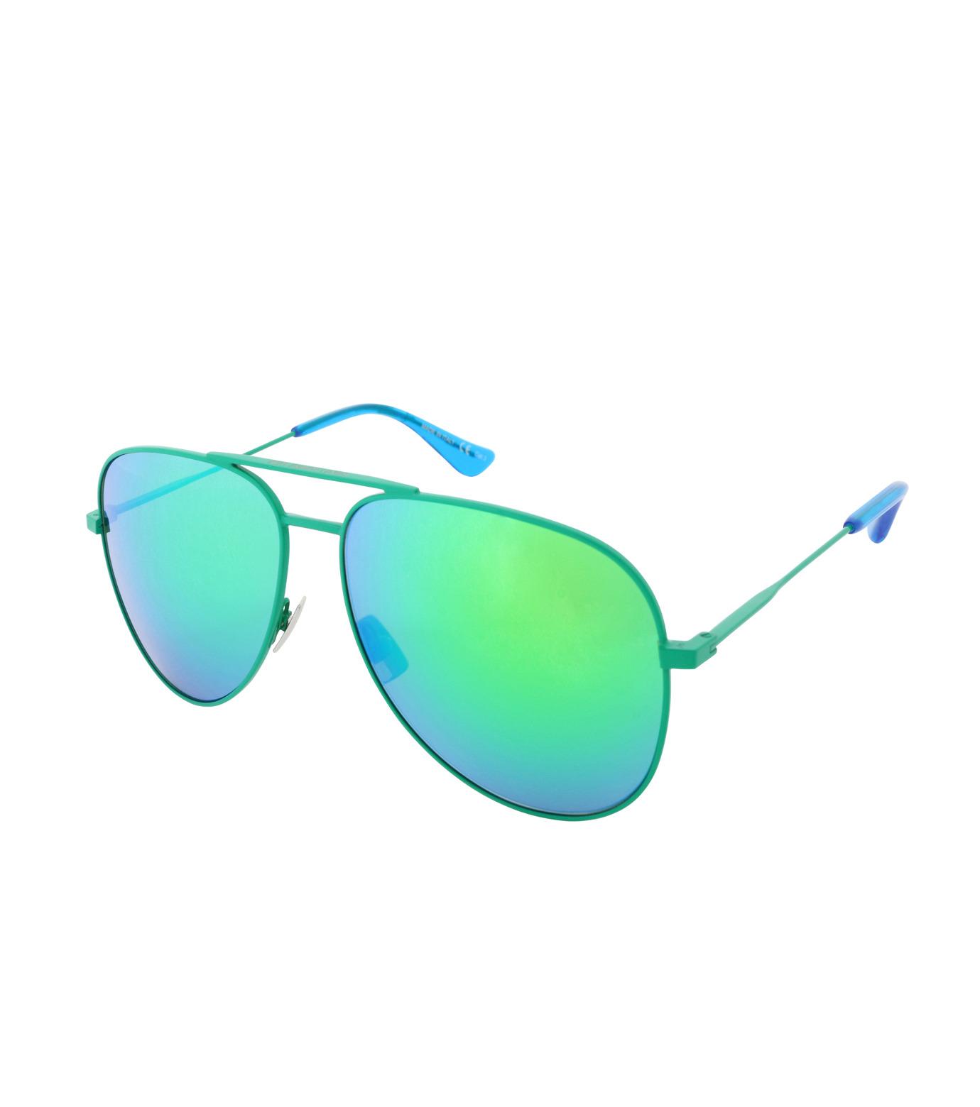 SAINT LAURENT(サンローラン)のTeardrop-GREEN(アイウェア/eyewear)-427758-Y9902-22 拡大詳細画像1
