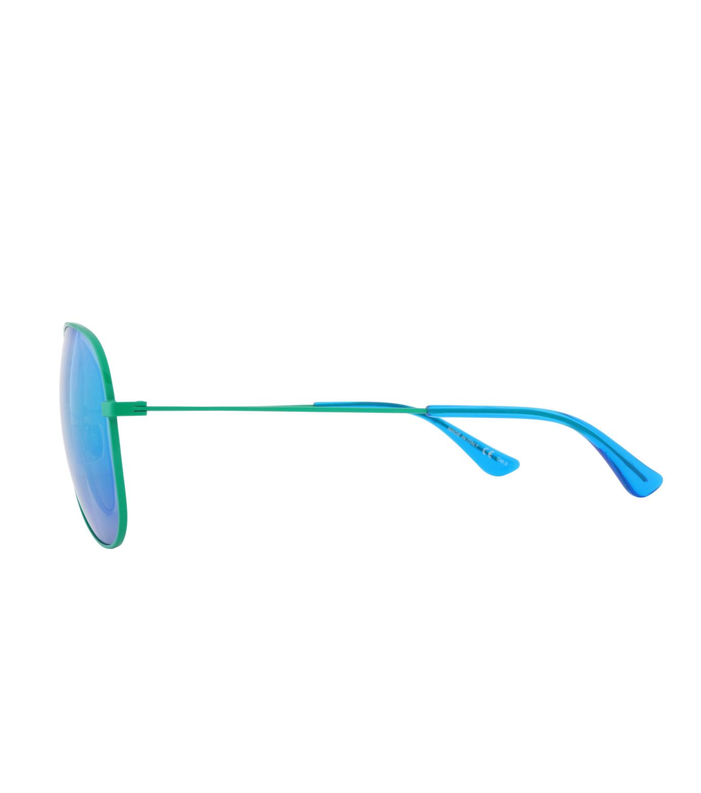 SAINT LAURENT(サンローラン)のTeardrop-GREEN(アイウェア/eyewear)-427758-Y9902-22 拡大詳細画像2