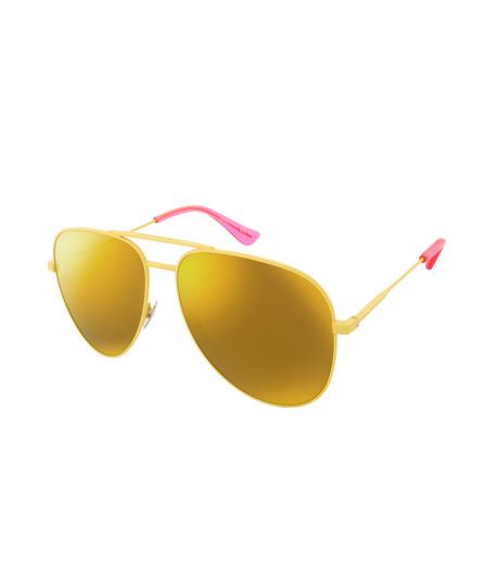 SAINT LAURENT(サンローラン)のTeardrop-YELLOW(アイウェア/eyewear)-427758-Y9902-32 詳細画像1