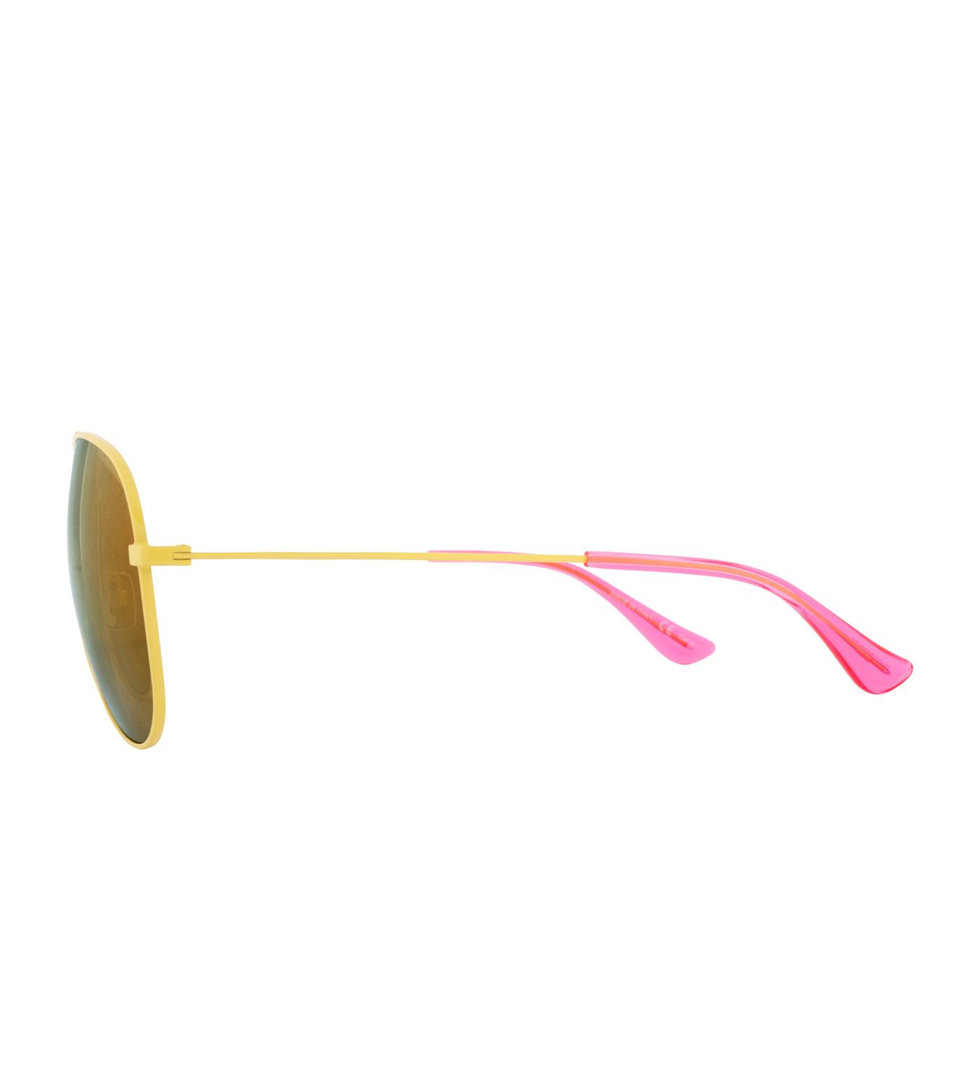 SAINT LAURENT(サンローラン)のTeardrop-YELLOW(アイウェア/eyewear)-427758-Y9902-32 拡大詳細画像2