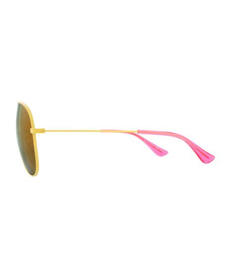 SAINT LAURENT(サンローラン)のTeardrop-YELLOW(アイウェア/eyewear)-427758-Y9902-32 詳細画像2