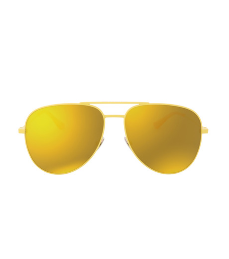 SAINT LAURENT(サンローラン)のTeardrop-YELLOW(アイウェア/eyewear)-427758-Y9902-32 詳細画像3