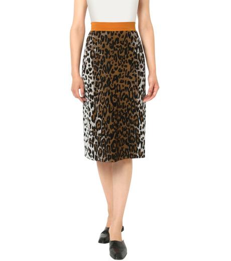 Stella McCartney(ステラマッカートニー)のCheetah Jacquard Skirt-BROWN(スカート/skirt)-429832-S1669-42 詳細画像1