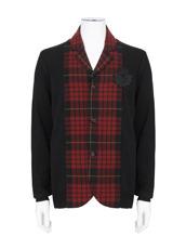 Alexander McQueen(アレキサンダーマックイーン) Check Knit Jacket