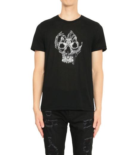 Alexander McQueen(アレキサンダーマックイーン)のPrint T-BLACK(カットソー/cut and sewn)-435907QHZT8-13 詳細画像1