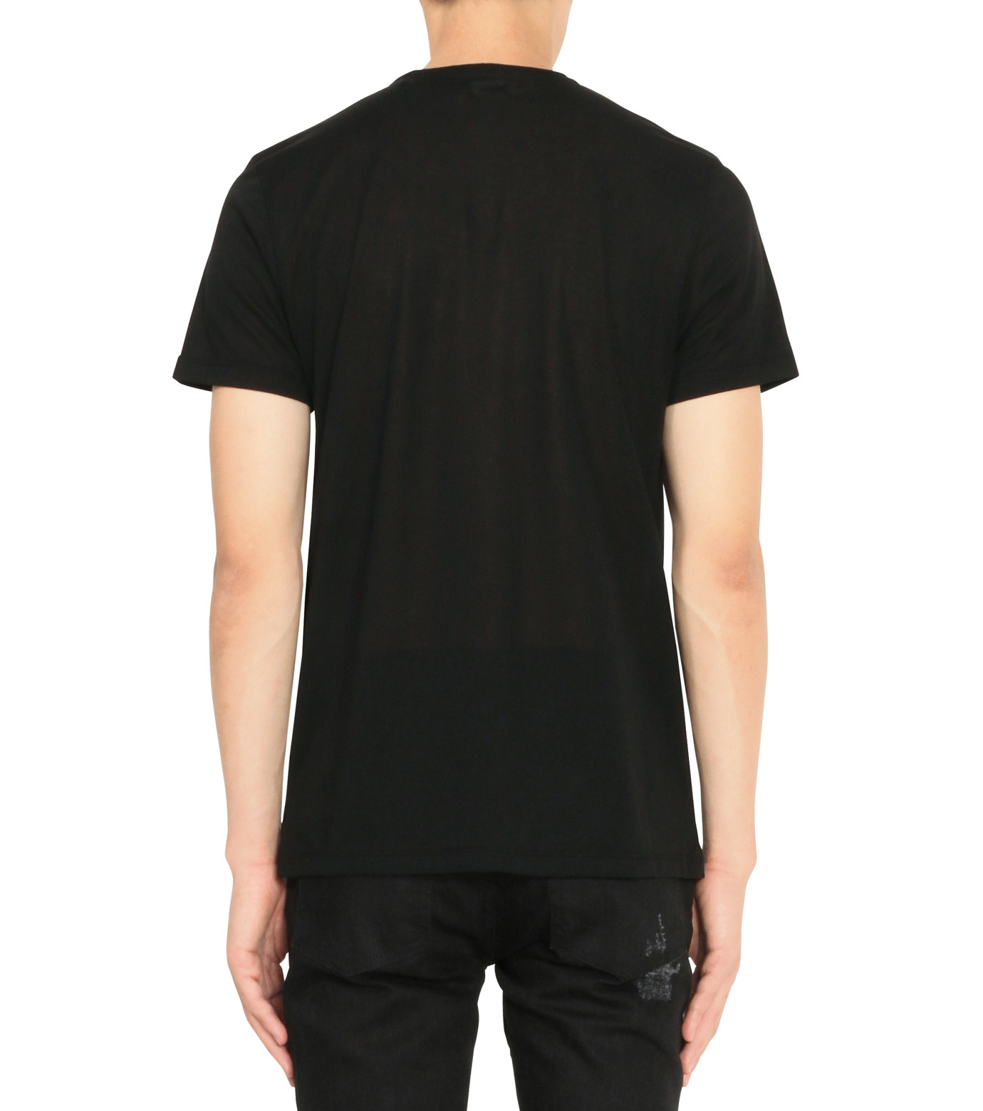 Alexander McQueen(アレキサンダーマックイーン)のPrint T-BLACK(カットソー/cut and sewn)-435907QHZT8-13 拡大詳細画像2