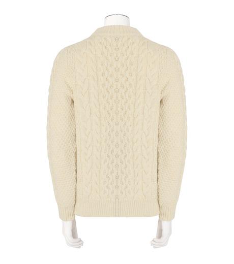 SAINT LAURENT(サンローラン)のLowgage Knit-WHITE(ニット/knit)-437265-Y1RH1-4 詳細画像2