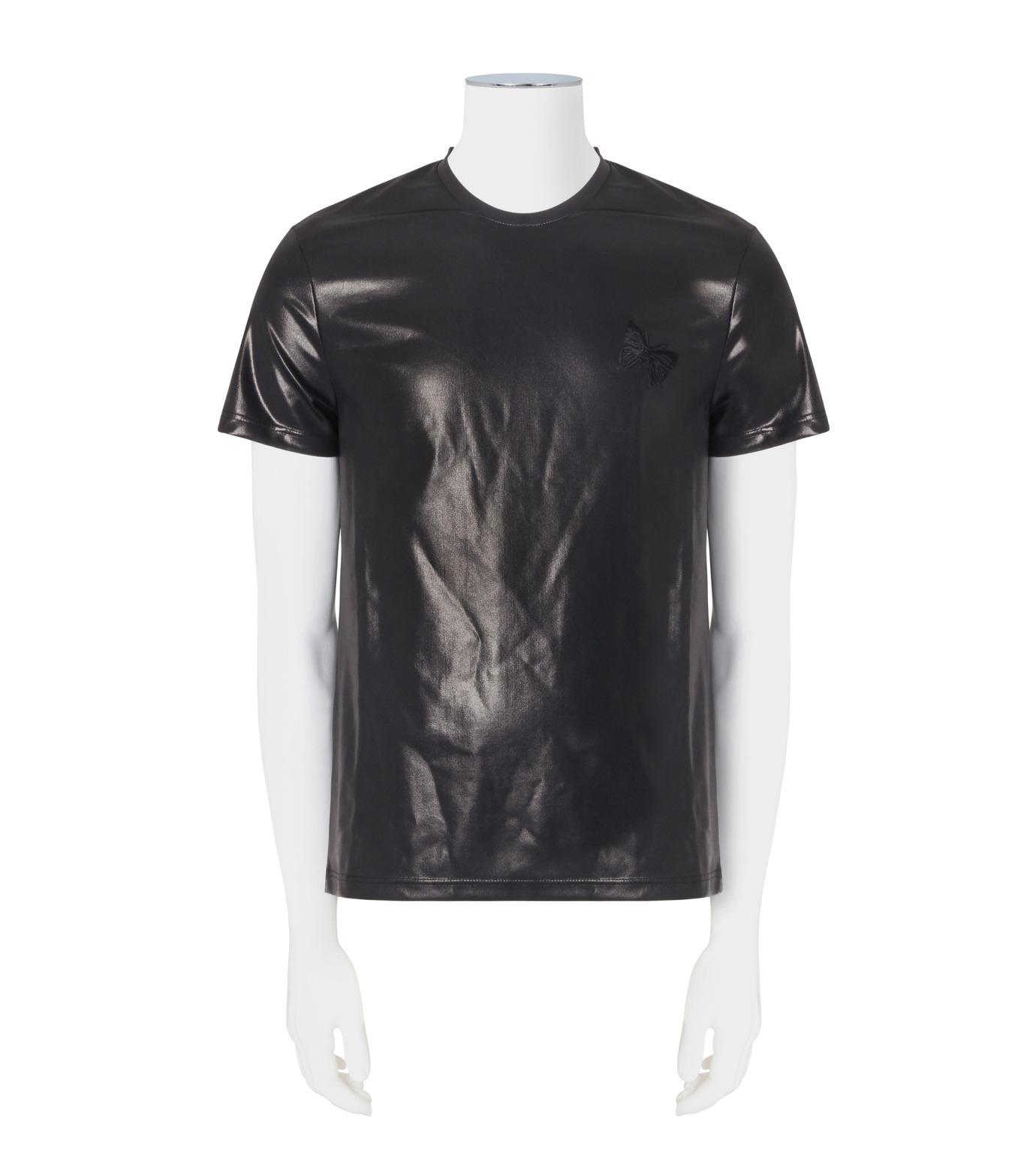 Alexander McQueen(アレキサンダーマックイーン)のCoating T-BLACK(カットソー/cut and sewn)-438389QHZU6-13 拡大詳細画像1