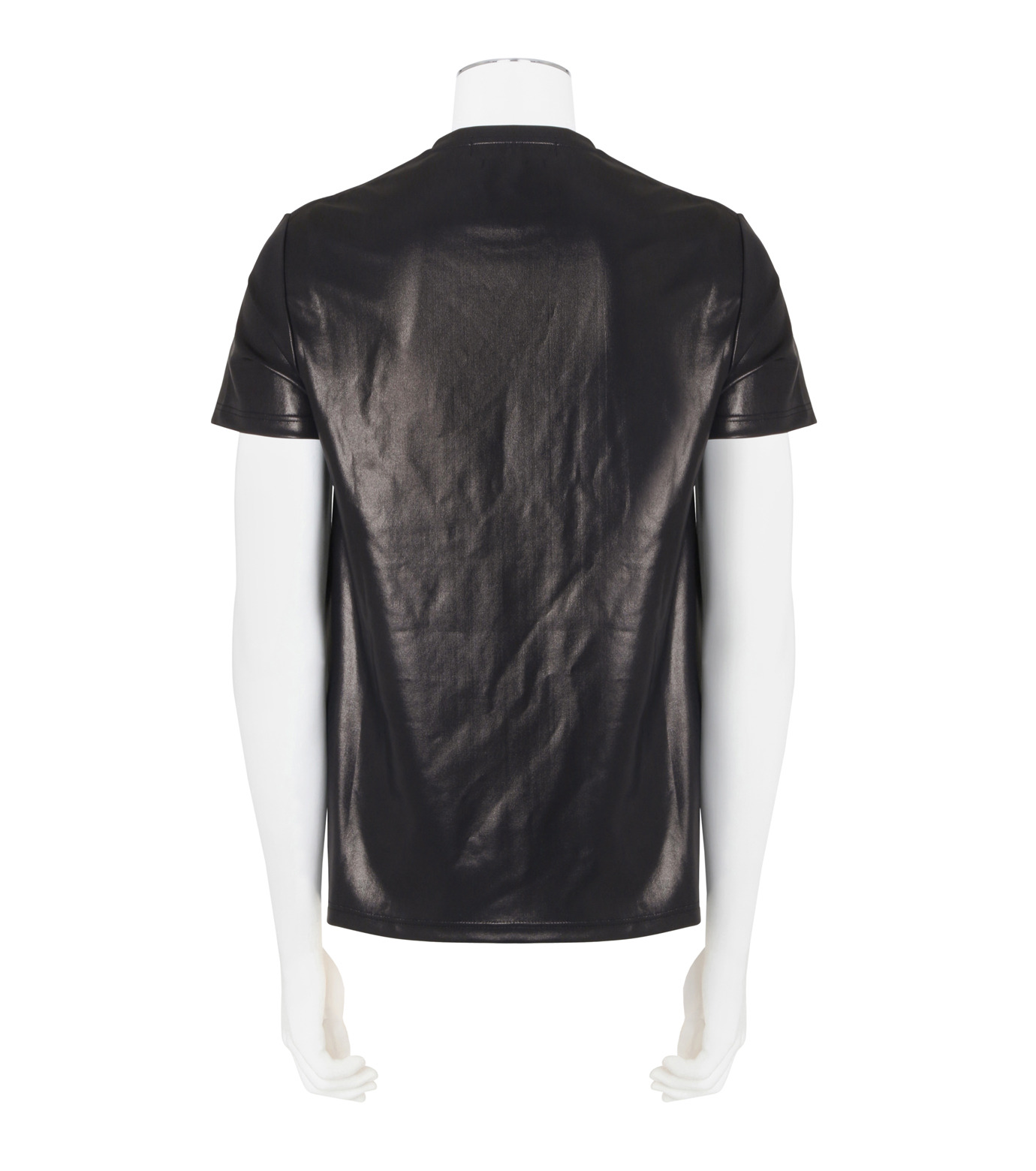 Alexander McQueen(アレキサンダーマックイーン)のCoating T-BLACK(カットソー/cut and sewn)-438389QHZU6-13 拡大詳細画像2