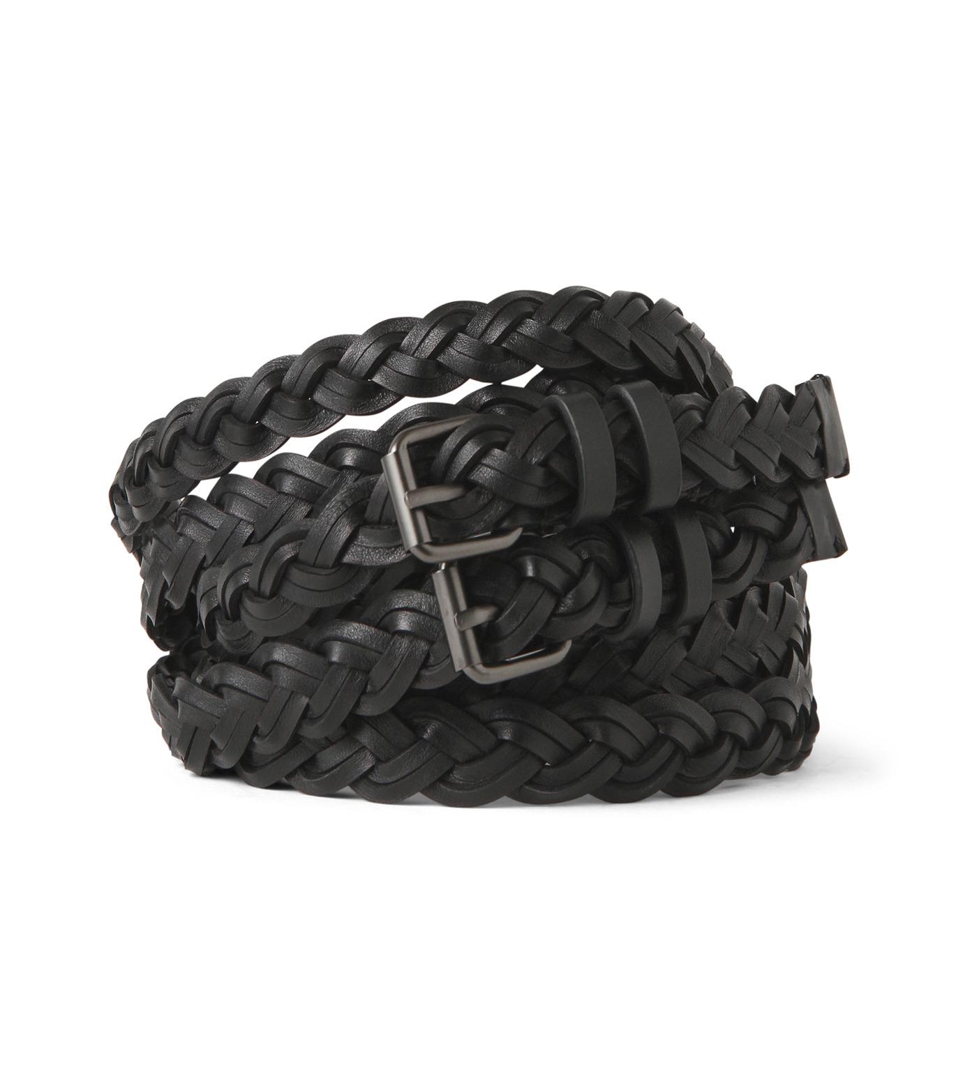 Haider Ackermann(ハイダー アッカーマン)のMesh Belt-BLACK(ベルト/belt)-439-89981001-13 拡大詳細画像1