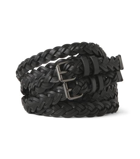 Haider Ackermann(ハイダー アッカーマン)のMesh Belt-BLACK(ベルト/belt)-439-89981001-13 詳細画像1