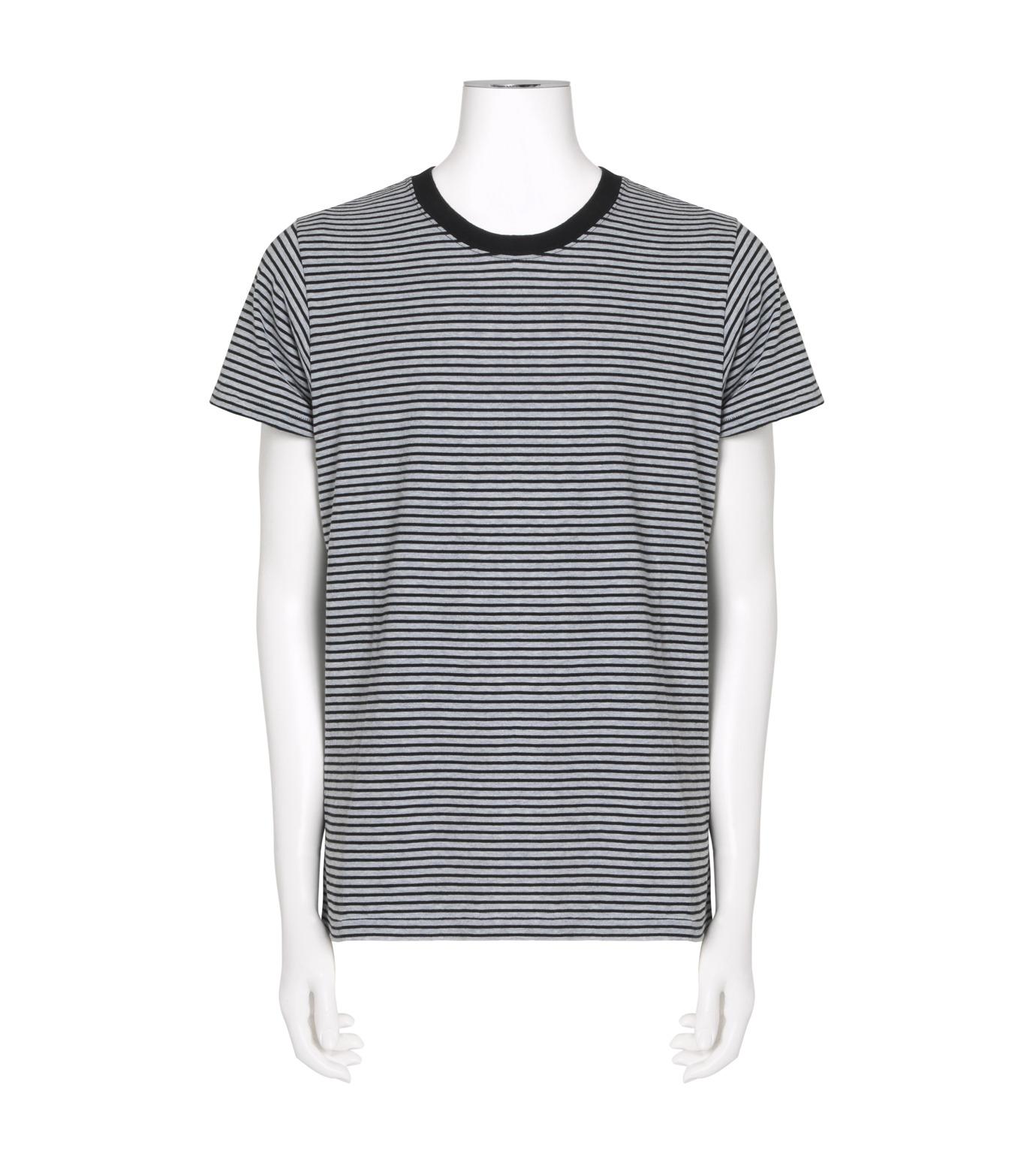 SAINT LAURENT(サンローラン)のBorder T-BLACK(カットソー/cut and sewn)-439488-Y2PG1-13 拡大詳細画像1