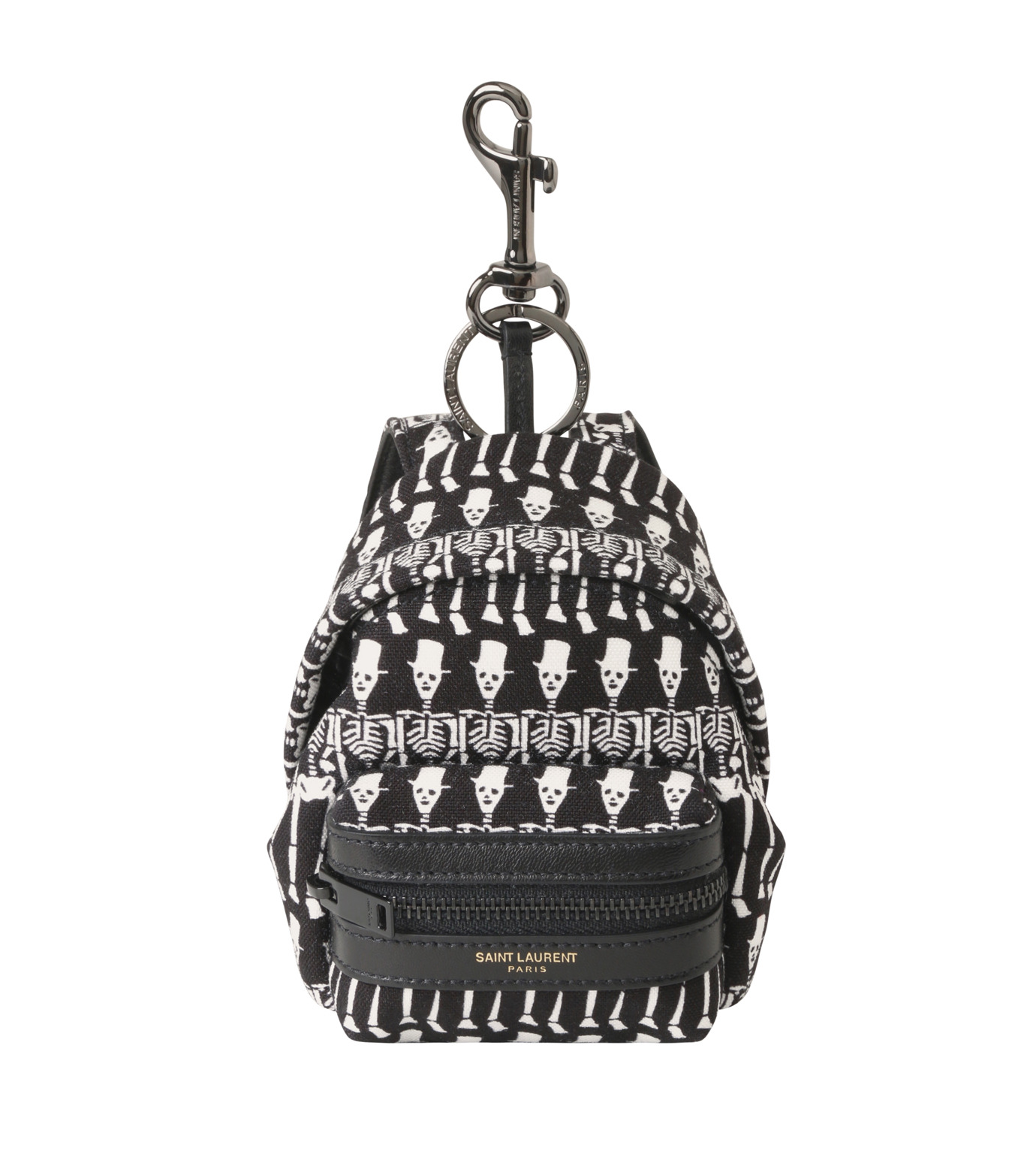 SAINT LAURENT(サンローラン)のSkull Mini Backpack-BLACK-441911-GR82U-13 拡大詳細画像1