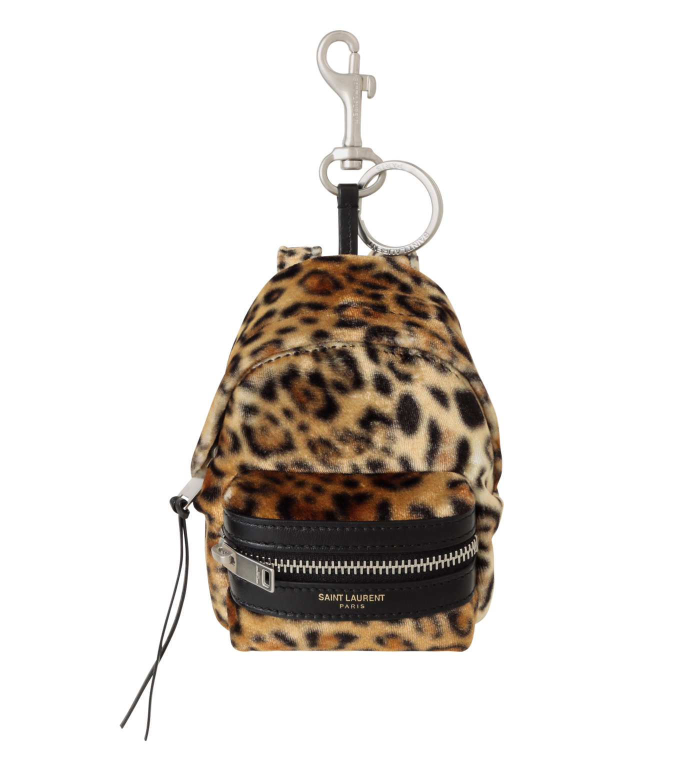 SAINT LAURENT(サンローラン)のLeopard Mini Backpack-BEIGE-441911-GRO7E-52 拡大詳細画像1