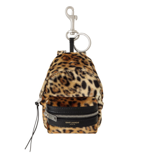 SAINT LAURENT(サンローラン)のLeopard Mini Backpack-BEIGE-441911-GRO7E-52 詳細画像1