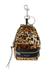 SAINT LAURENT Leopard Mini Backpack