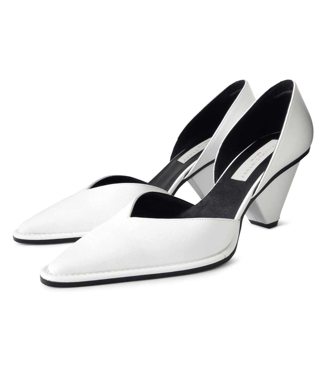 Stella McCartney(ステラマッカートニー)のPumps-WHITE(パンプス/pumps)-443590-W0YG0-4 拡大詳細画像3