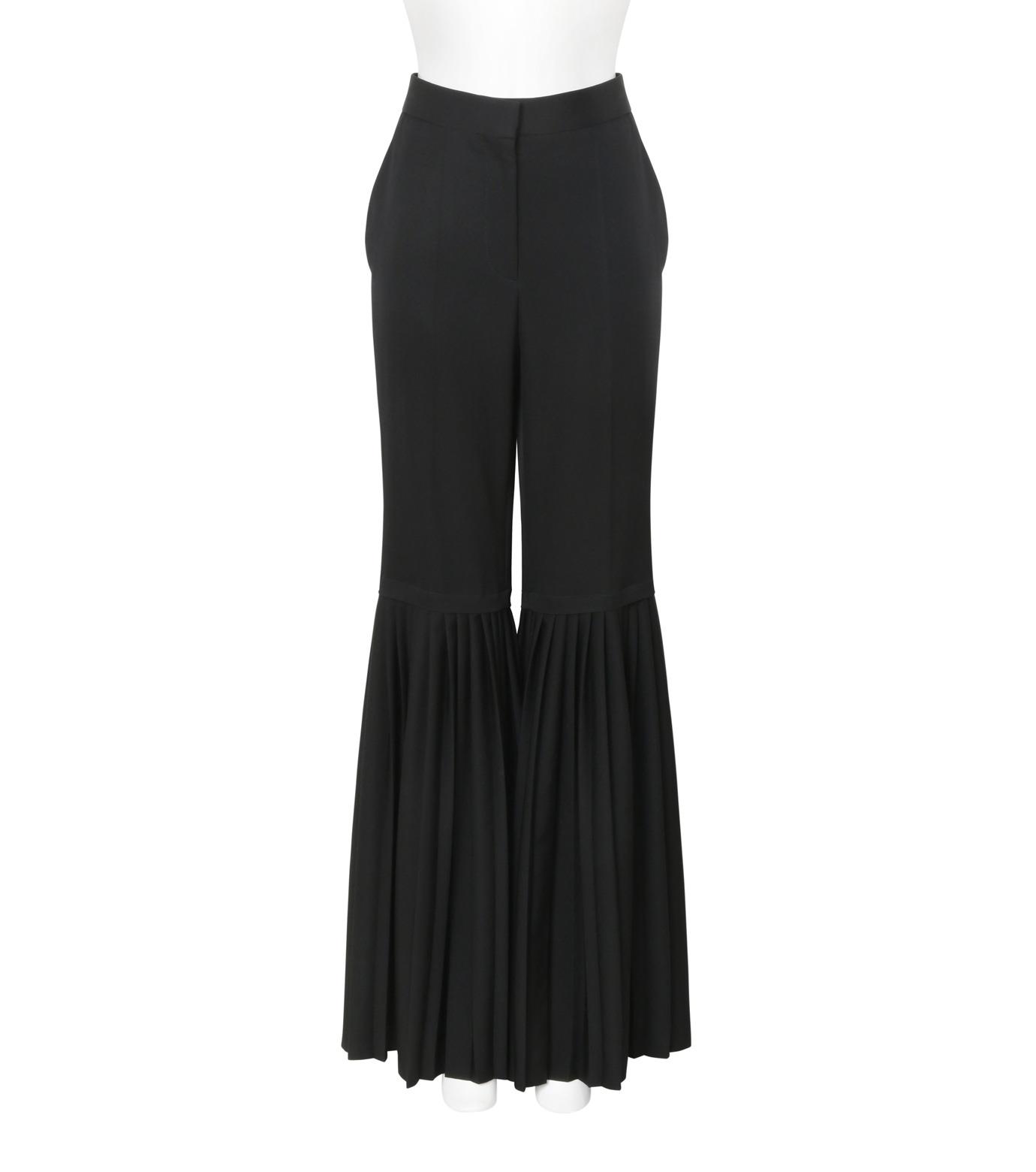 Stella McCartney(ステラマッカートニー)のChellini Pleated Pants-BLACK(パンツ/pants)-444881-SHB55-13 拡大詳細画像1