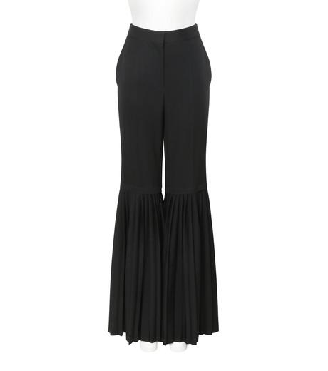 Stella McCartney(ステラマッカートニー)のChellini Pleated Pants-BLACK(パンツ/pants)-444881-SHB55-13 詳細画像1