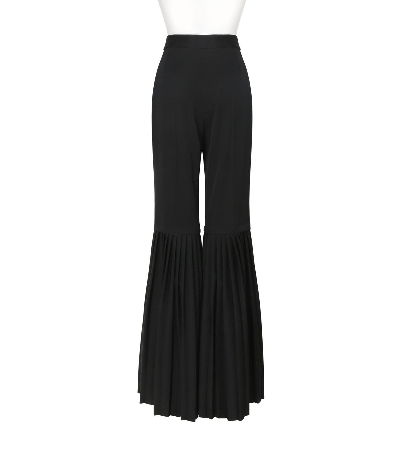 Stella McCartney(ステラマッカートニー)のChellini Pleated Pants-BLACK(パンツ/pants)-444881-SHB55-13 拡大詳細画像2