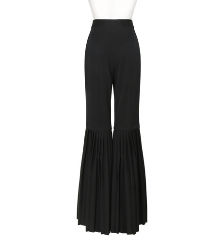 Stella McCartney(ステラマッカートニー)のChellini Pleated Pants-BLACK(パンツ/pants)-444881-SHB55-13 詳細画像2