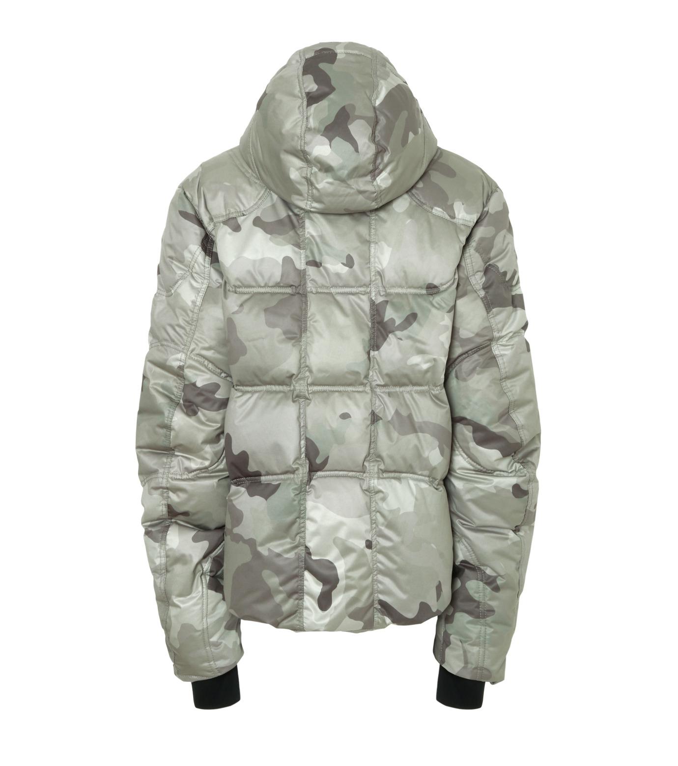 KRU()のCamoflage Down-GRAY(ブルゾン/blouson)-45011-11 拡大詳細画像2