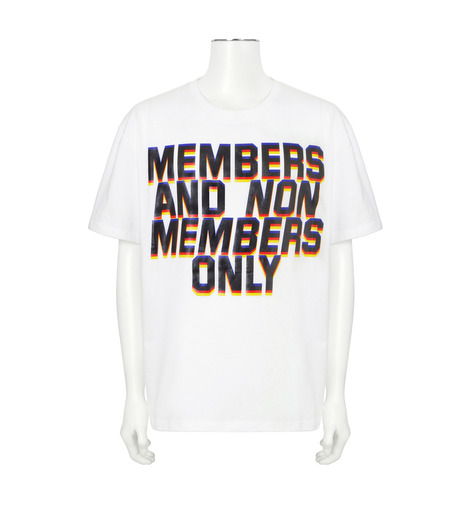 Stella McCartney(ステラマッカートニー)のMessage T-WHITE(カットソー/cut and sewn)-453010SIP03-4 詳細画像1