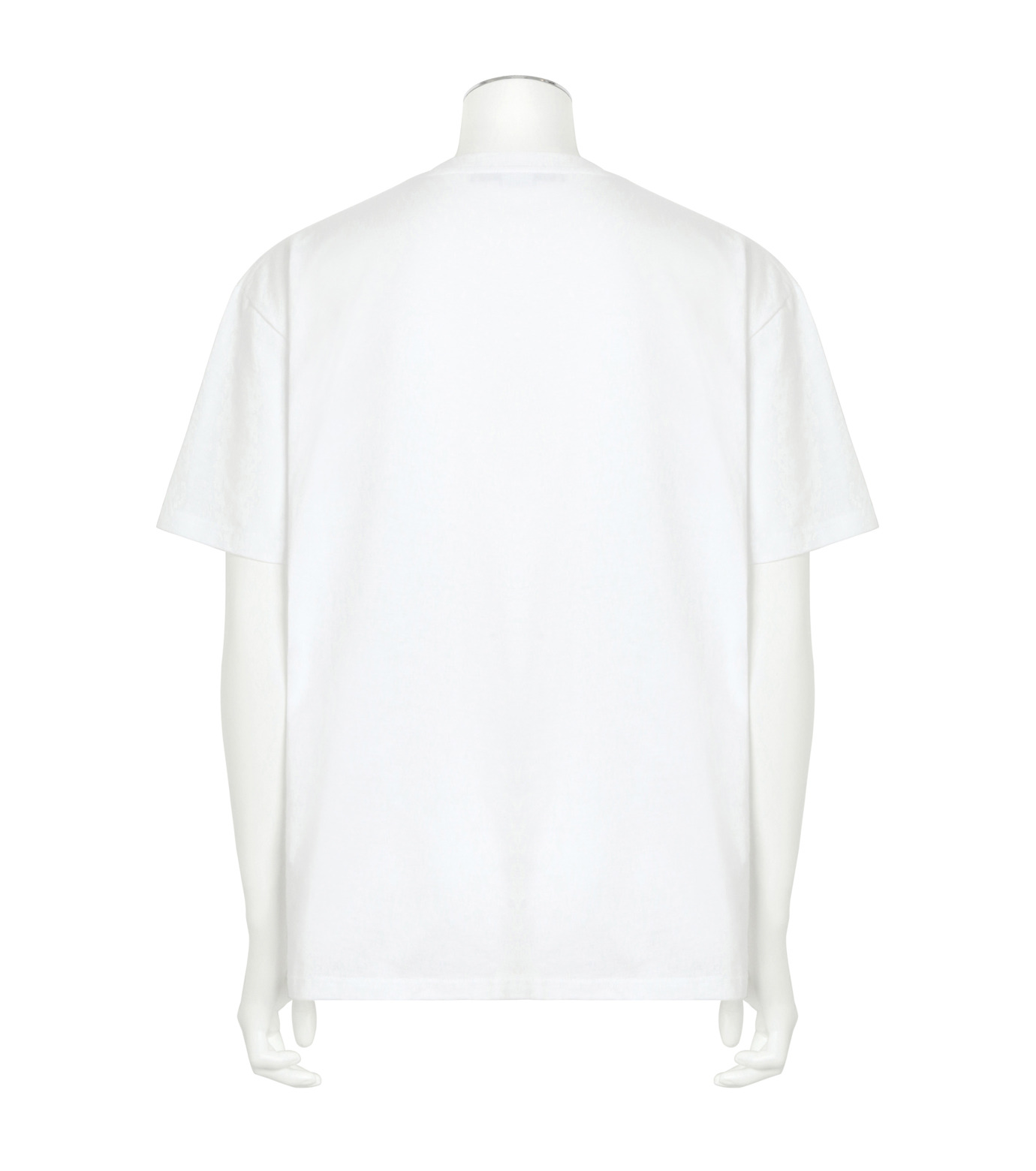 Stella McCartney(ステラマッカートニー)のMessage T-WHITE(カットソー/cut and sewn)-453010SIP03-4 拡大詳細画像2