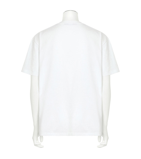 Stella McCartney(ステラマッカートニー)のMessage T-WHITE(カットソー/cut and sewn)-453010SIP03-4 詳細画像2