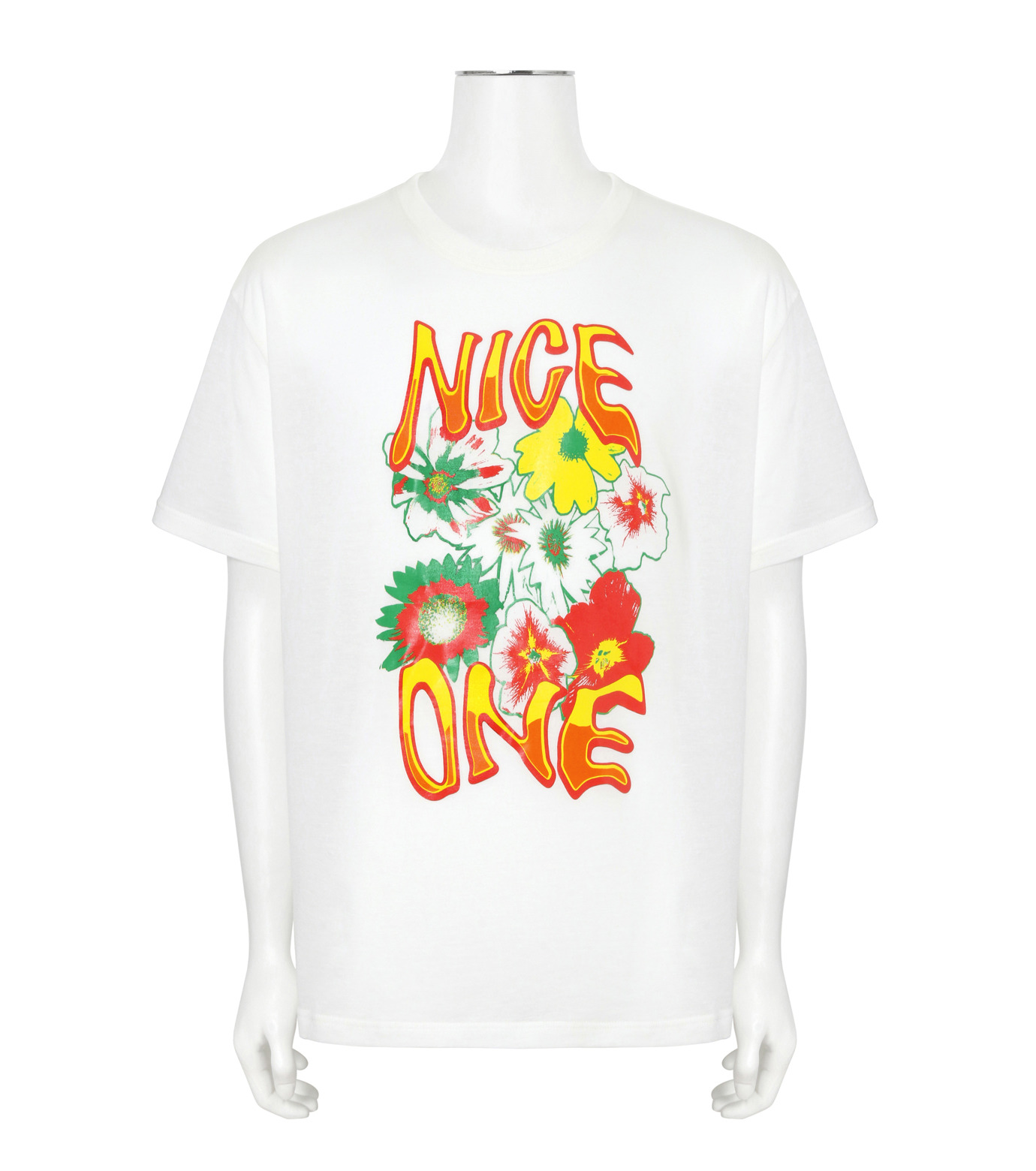 Stella McCartney(ステラマッカートニー)のNice One T-WHITE(カットソー/cut and sewn)-453010SIP12-4 拡大詳細画像1