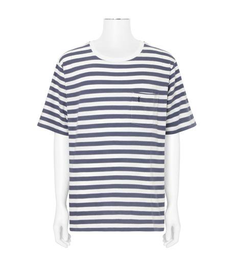 SAINT LAURENT(サンローラン)のBorder T-BLUE(カットソー/cut and sewn)-454136-Y2MU1-92 詳細画像1