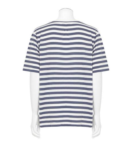 SAINT LAURENT(サンローラン)のBorder T-BLUE(カットソー/cut and sewn)-454136-Y2MU1-92 詳細画像2