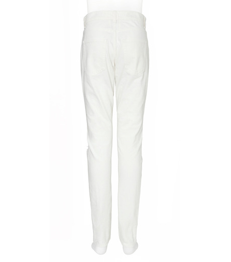SAINT LAURENT(サンローラン)のClushed Denim-WHITE(デニム/denim)-462737-Y888L-4 詳細画像2