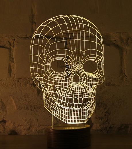 Bulbing(バルビング)のSKULL Lamp-NONE(ライト/light)-480520-0 詳細画像1