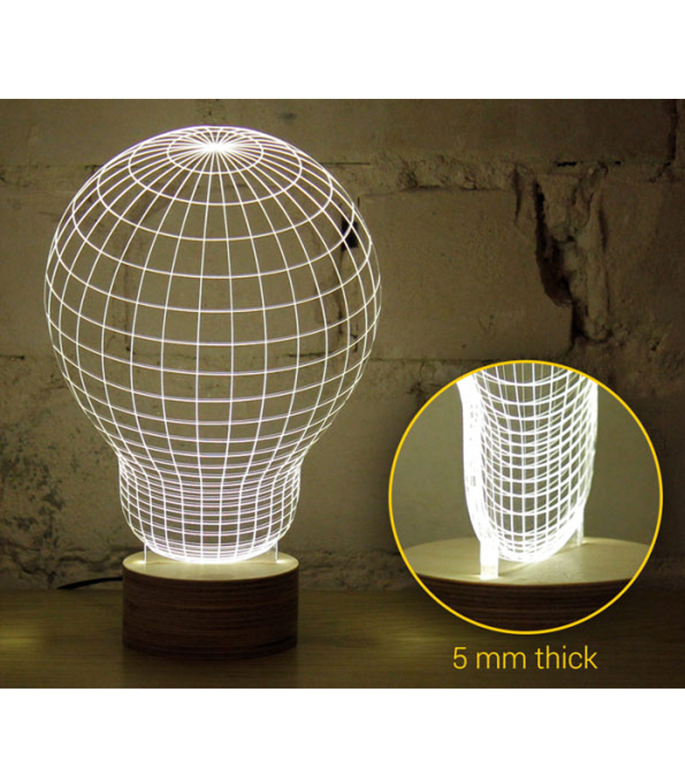 Bulbing(バルビング)のSKULL Lamp-NONE(ライト/light)-480520-0 拡大詳細画像3