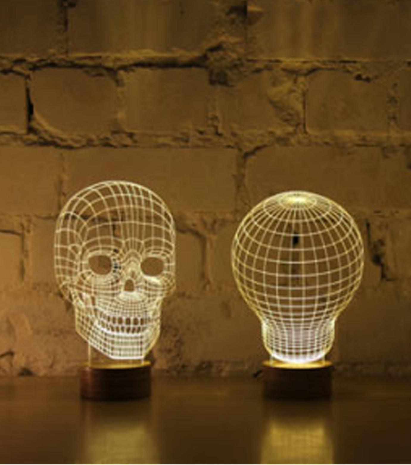 Bulbing(バルビング)のSKULL Lamp-NONE(ライト/light)-480520-0 拡大詳細画像5