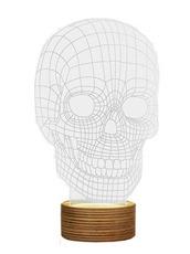 Bulbing SKULL Lamp