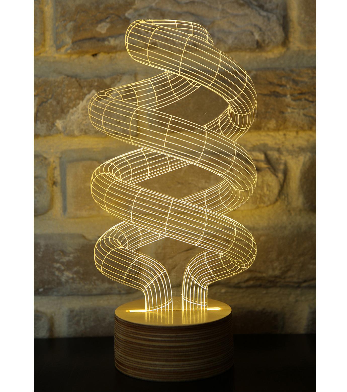 Bulbing(バルビング)のSPIRAL Lamp-NONE(ライト/light)-480521-0 拡大詳細画像1