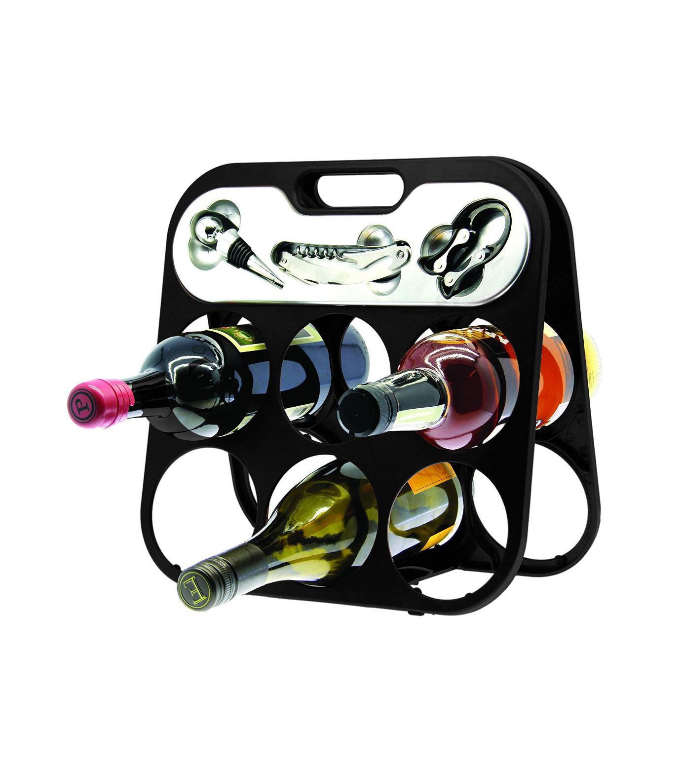 DCI(ディーシーアイ)のWine Bottle Rack-BLACK(アザーズ/others)-49300-13 拡大詳細画像1