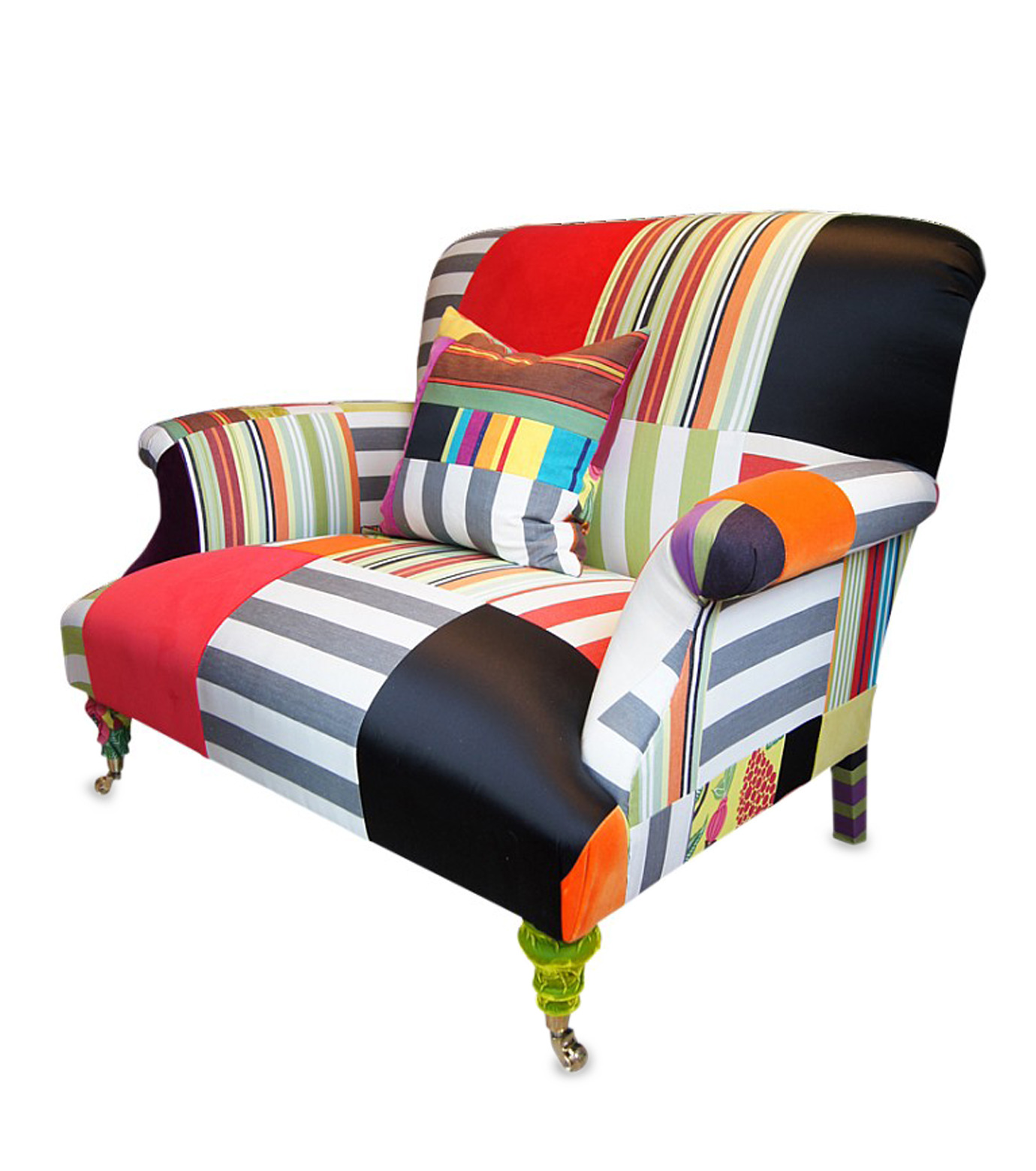 Squintlimited(スクイントリミテッド)のBloomsbury man and dog Armchair-NONE-5-0 拡大詳細画像1