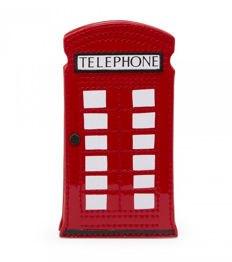 Lulu Guinness(ルル・ギネス)のTelephone Box Phone Holder-RED(ケースiphone5/5s/se/case iphone5/5s/se)-50003235-62 詳細画像1