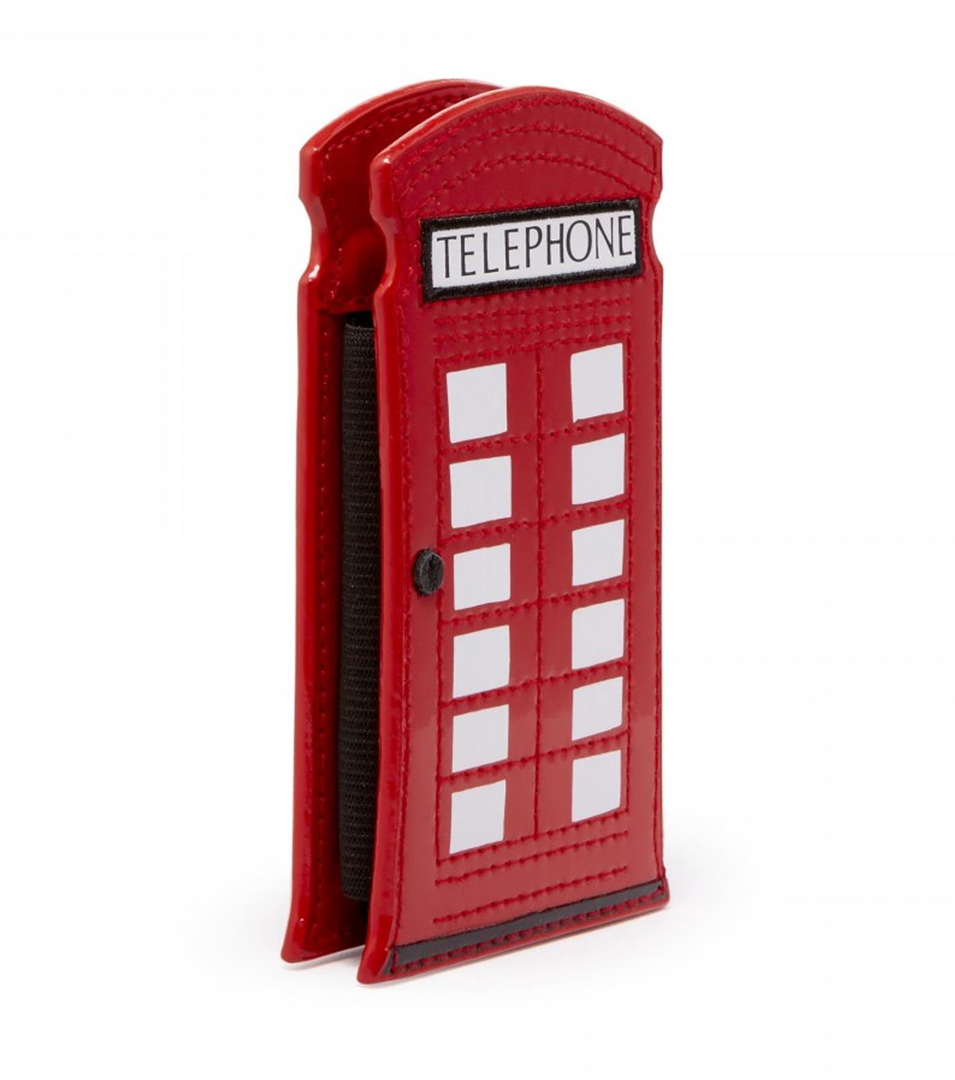 Lulu Guinness(ルル・ギネス)のTelephone Box Phone Holder-RED(ケースiphone5/5s/se/case iphone5/5s/se)-50003235-62 拡大詳細画像2