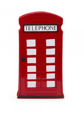 Lulu Guinness(ルル・ギネス) Telephone Box Phone Holder