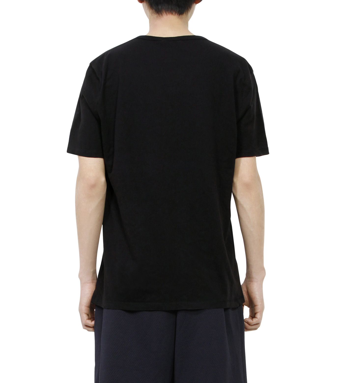 T by Alexander Wang(ティーバイ アレキサンダーワン)のBasic T-BLACK(カットソー/cut and sewn)-500201C-13 拡大詳細画像2